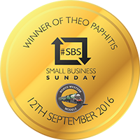 Winner of the Theo Pathitis Small Business Sunday Award