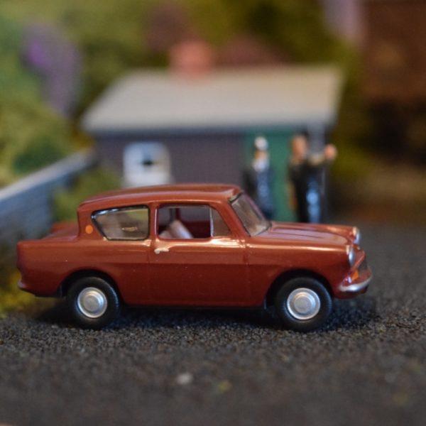 Ford Anglia 105E (Burgundy) & Ford Anglia 105E (Burgundy) - North Western Models markmcfarlin.com