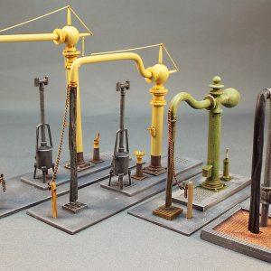 Water Cranes & Columns