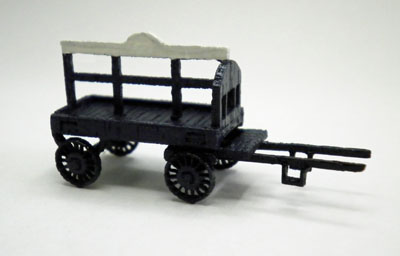 N Horse Drawn Coal Wagon