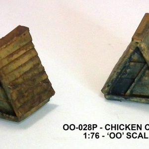 OO Chicken coop