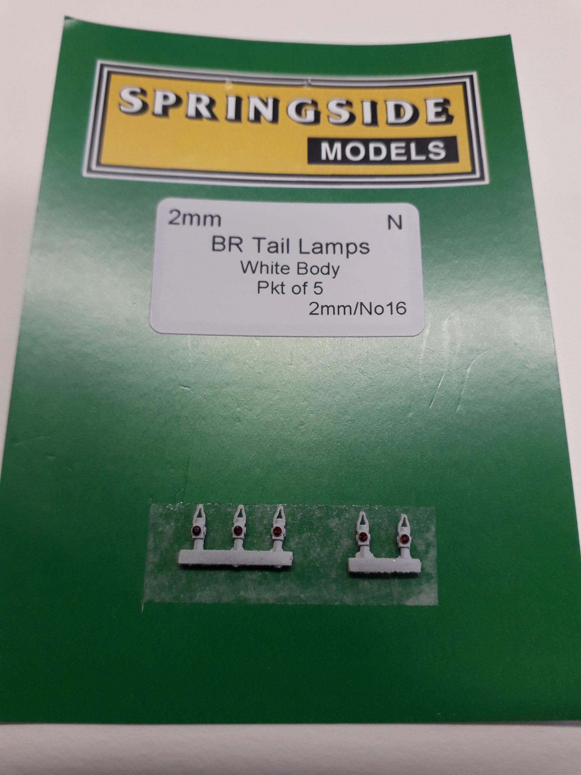 N gauge BR Tail Lamps