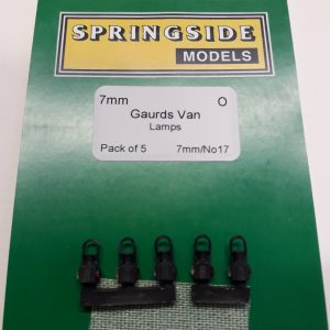 O gauge Guards Van Lamps
