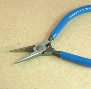 Miniature Long Nose Pliers with Smooth Jaws